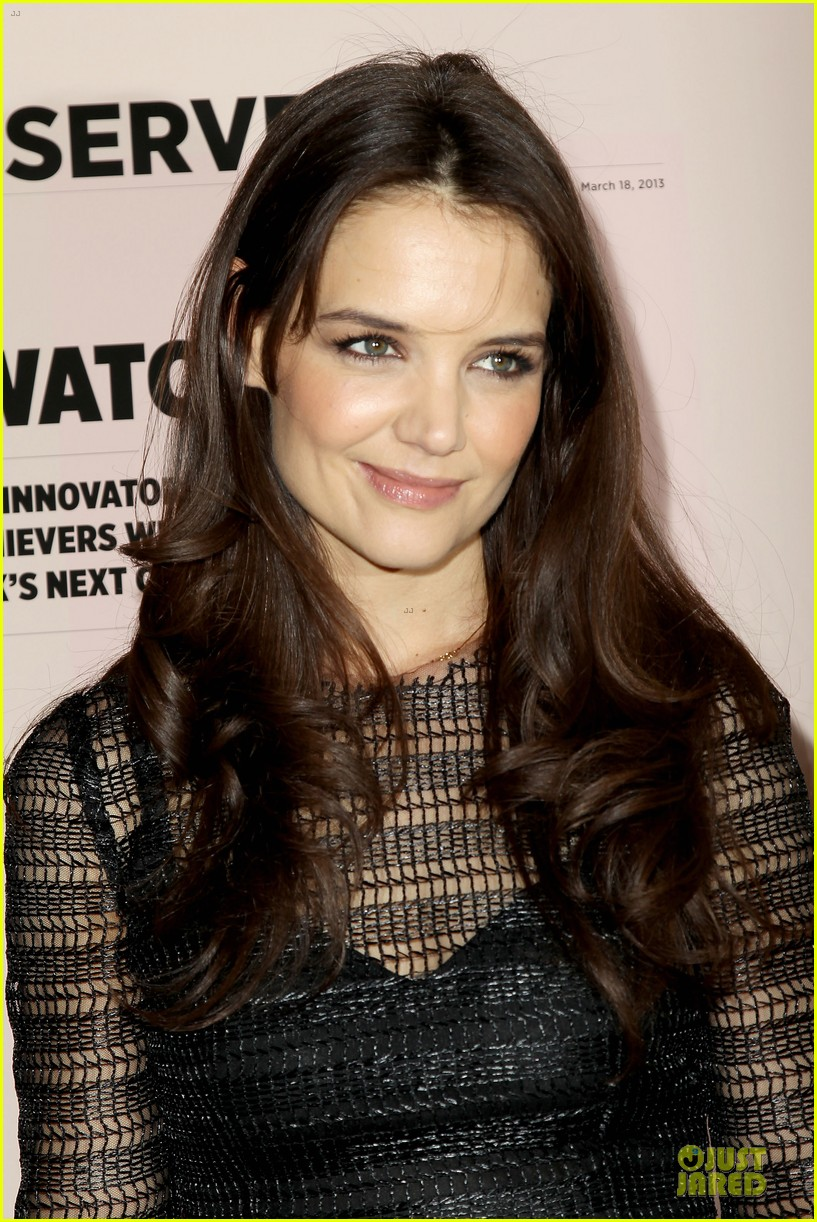 katie holmes new york observer anniversary party 072830947