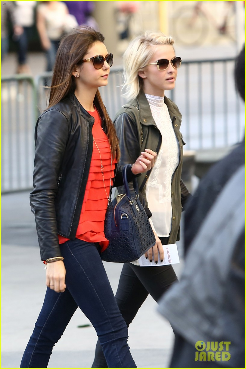 julianne hough post split lakers game with nina dobrev 02