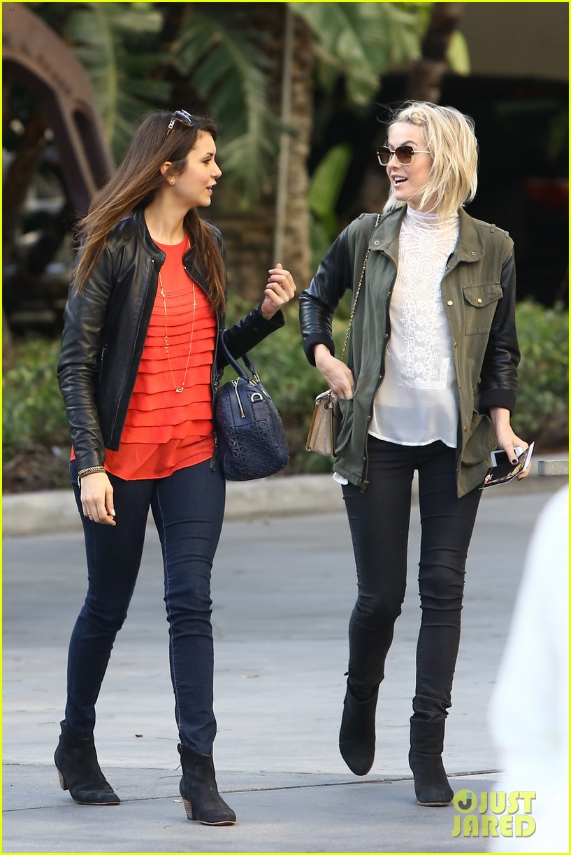 julianne hough post split lakers game with nina dobrev 052832718