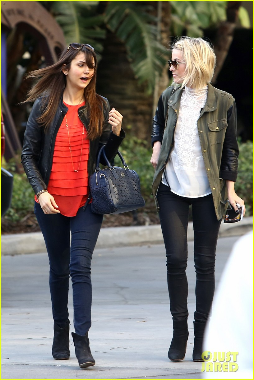 julianne hough post split lakers game with nina dobrev 06