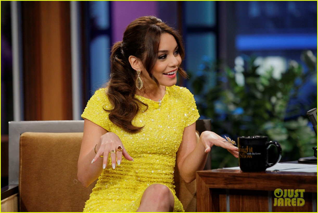 Vanessa Hudgens: 'Tonight Show with Jay Leno' Appearance!: Photo ...