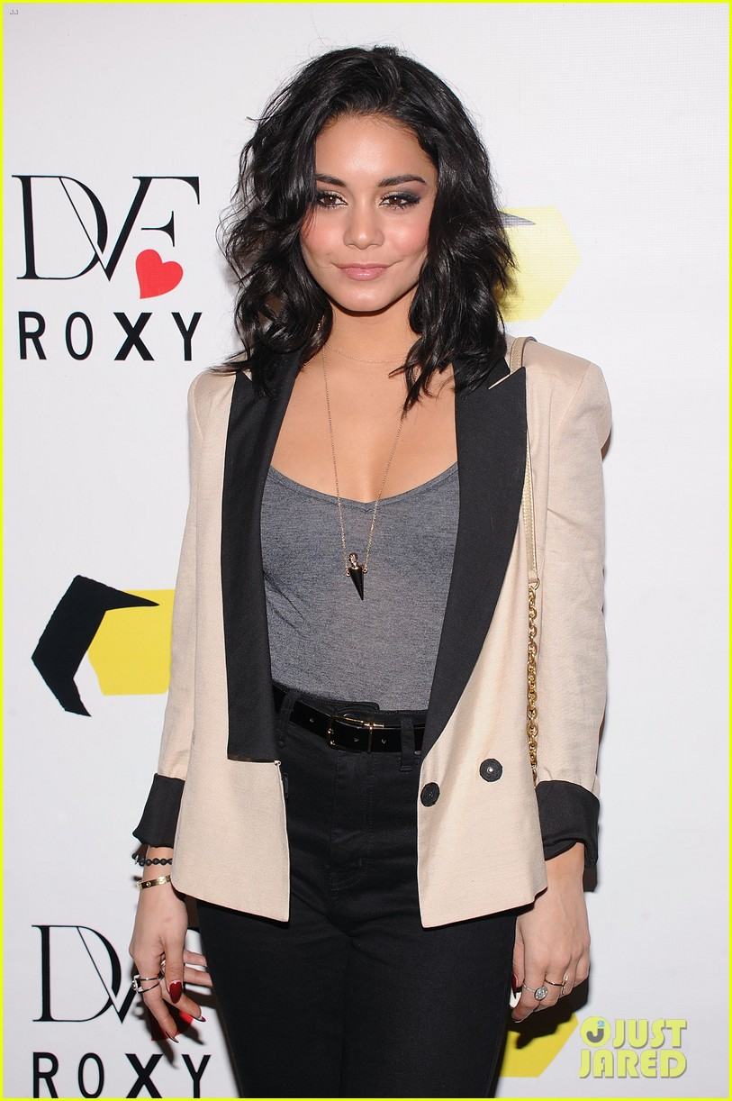 vanessa hudgens dvf loves roxy launch event 042826346