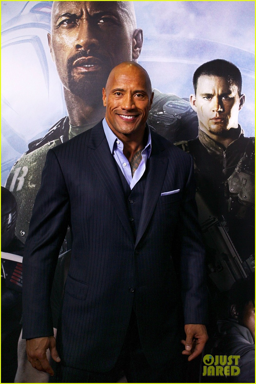 dwayne johnson g i joe 2 retaliation australian premiere 03