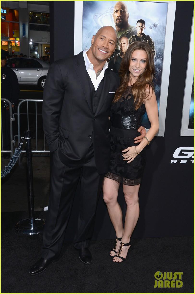 Dwayne Johnson Girlfriend Lauren Hashian