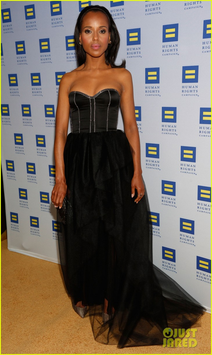 kerry washington lance bass human rights campaign gala 2013 01