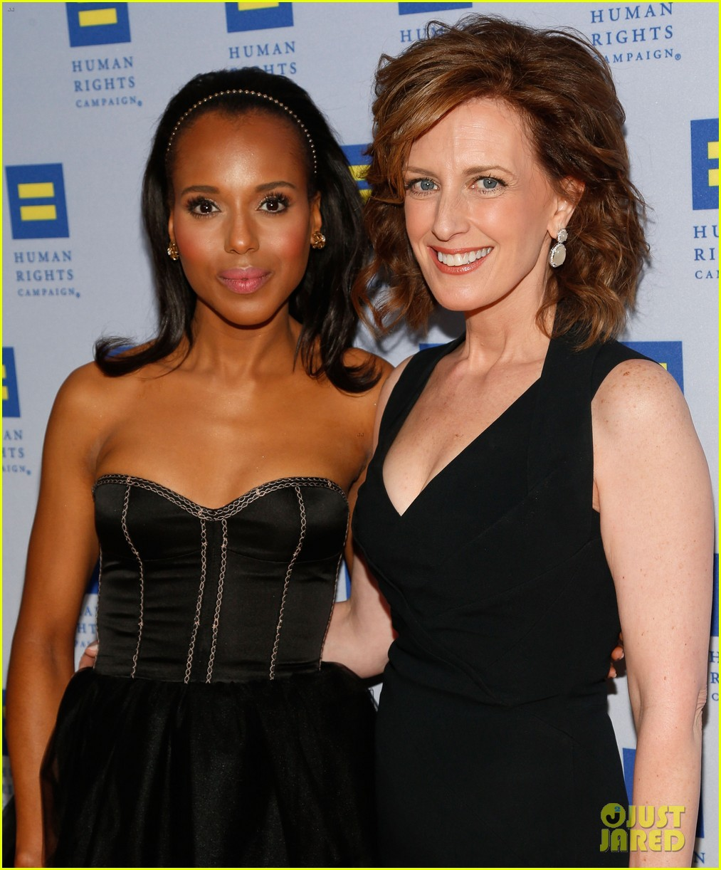kerry washington lance bass human rights campaign gala 2013 05