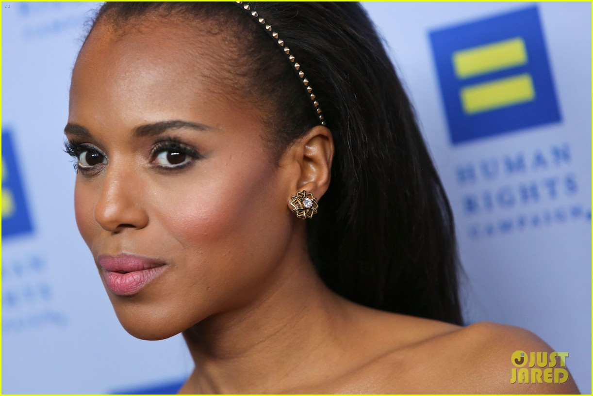 kerry washington lance bass human rights campaign gala 2013 10