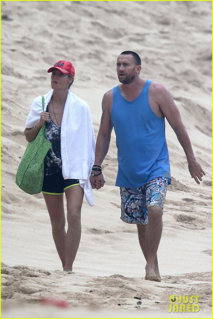 heidi klum martin kirsten hawaii beach day with the family 042838114