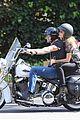 heidi klum martin kirsten brentwood motorcycle ride 38