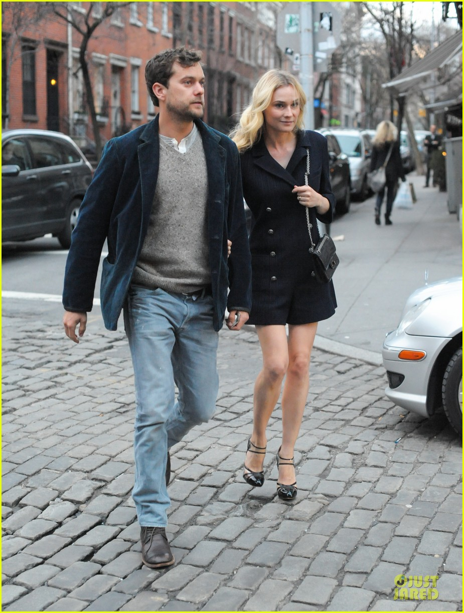 diane kruger joshua jackson west village dinner date 012838372