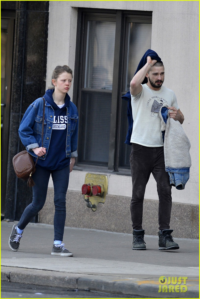 shia labeouf mia goth new york twosome 052828806