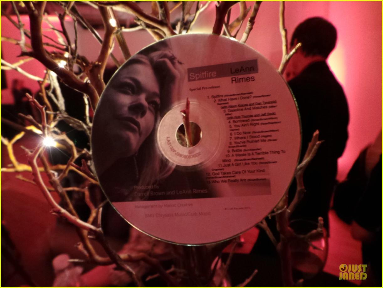 leann rimes spitfire album listening party 07