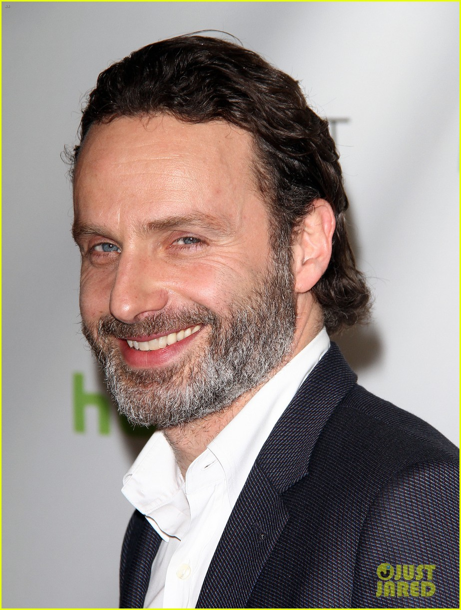 andrew lincoln laurie holden walking dead at paleyfest 02
