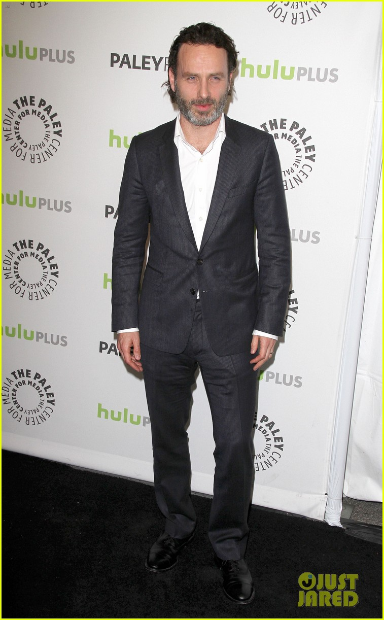 andrew lincoln laurie holden walking dead at paleyfest 12