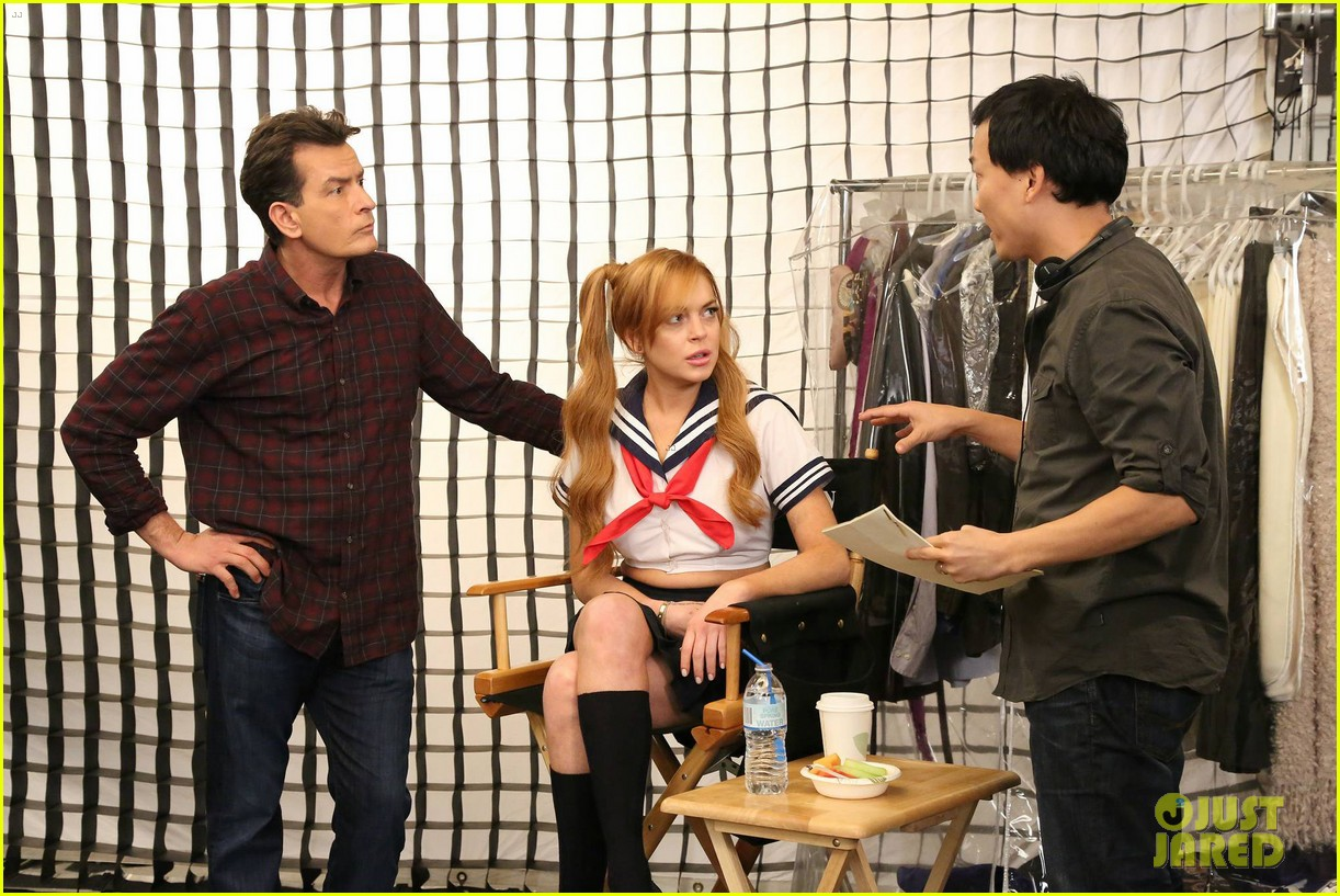 lindsay lohan anger management cameo stills 112839473