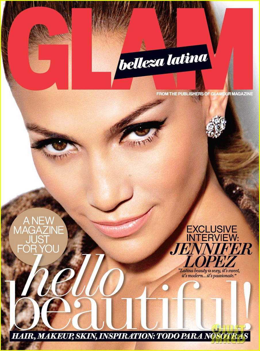 jennifer lopez covers glam belleza latina debut issue