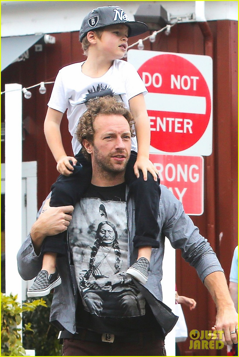 Photo of Chris Martin & his  Son  Moses Martin