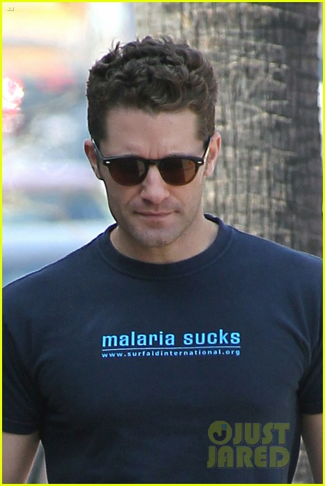 matthew morrison renee puente shopping duo 022833809