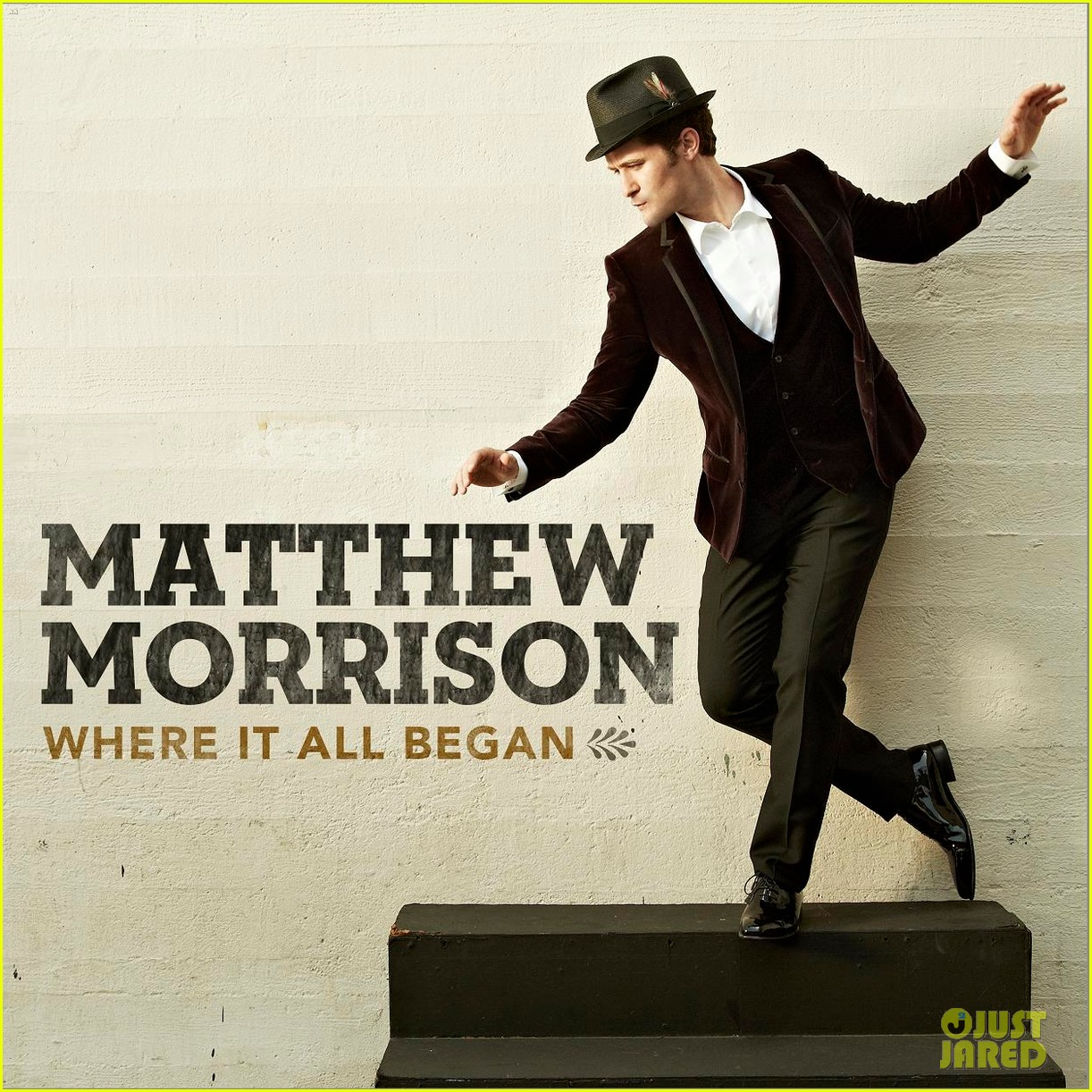 matthew morrison new album where it all began