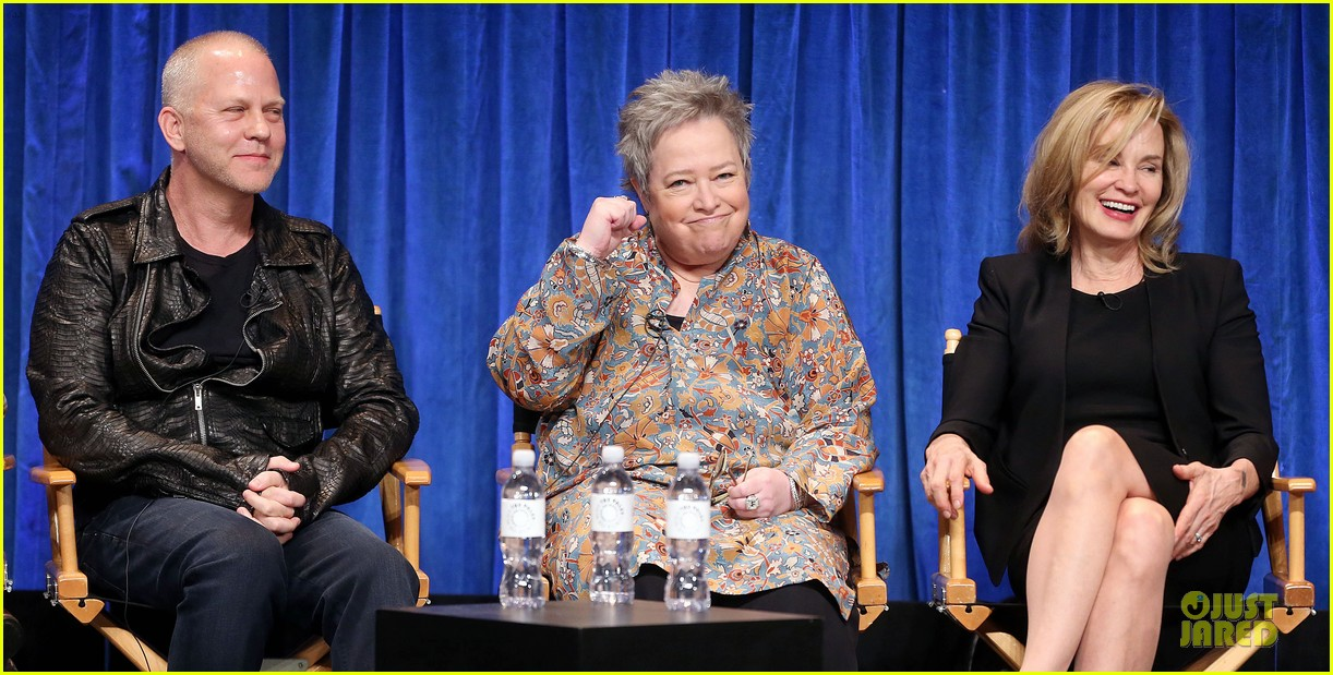 evan peters sarah paulson paleyfest with american horror story cast 22