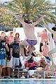 michael phelps shirtless speedo poolside afternoon 13