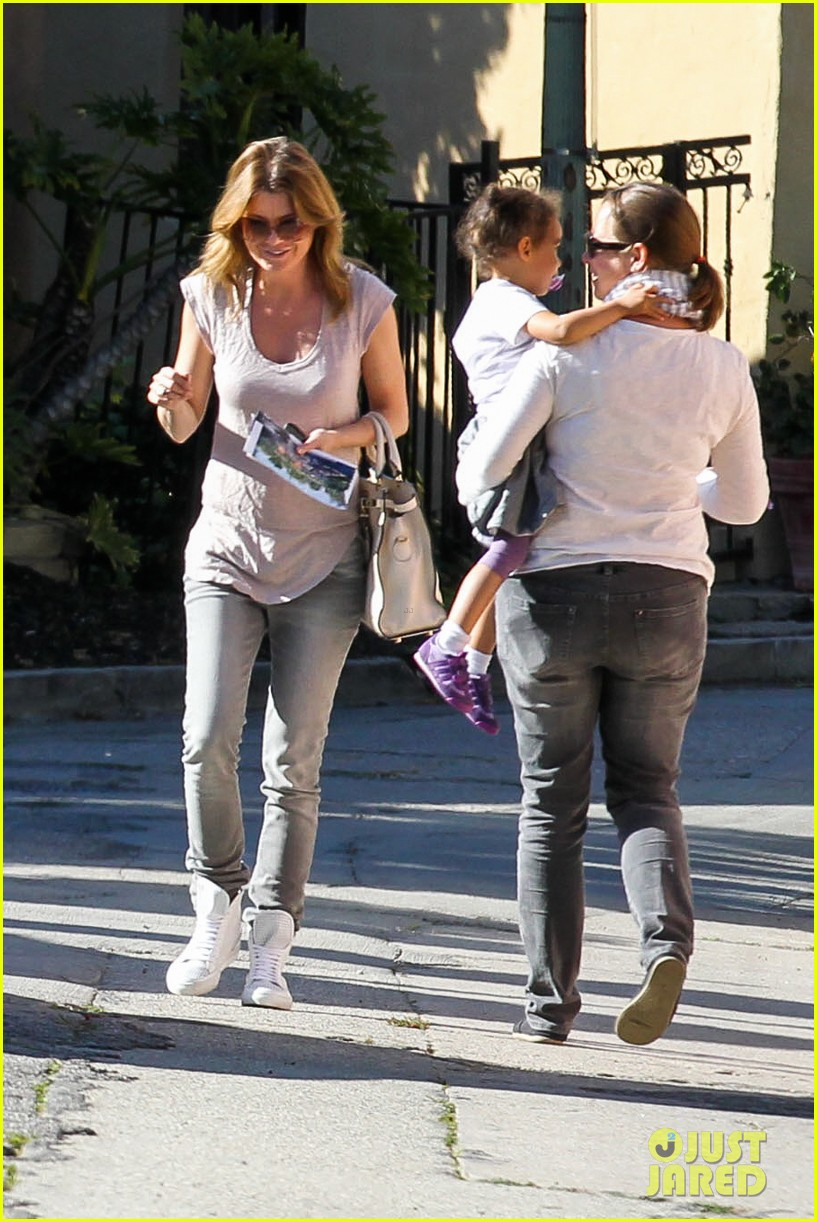 ellen pompeo visits old house in hollywood 01
