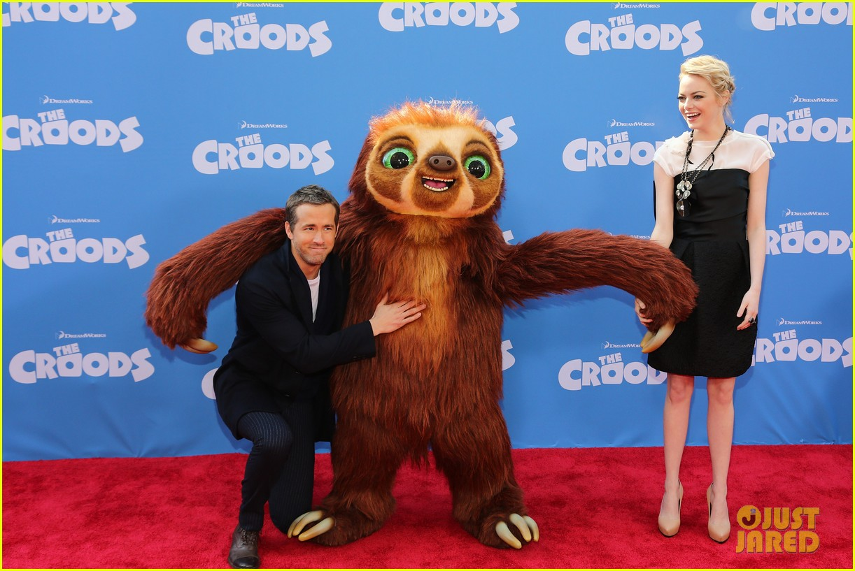 blake lively ryan reynolds croods new york premiere 06