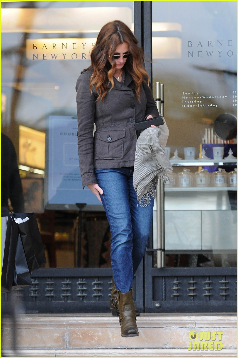 Julia Roberts Barney S New York Shopping Spree Photo 2827297 Danny Moder Julia Roberts
