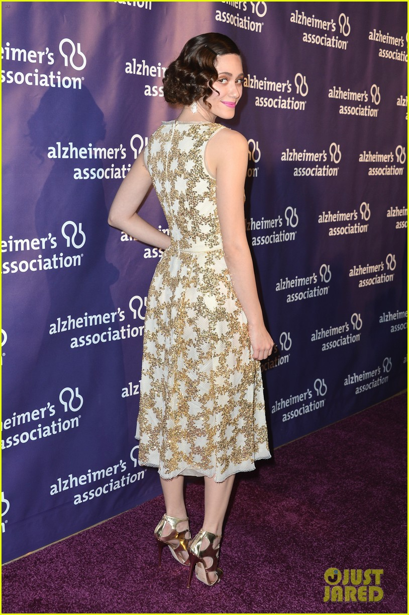emmy rossum a night at sardis for alzheimers association 15