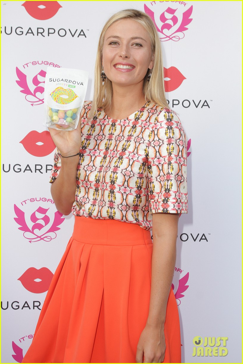 maria sharapova novak djokovic sony open player party 20