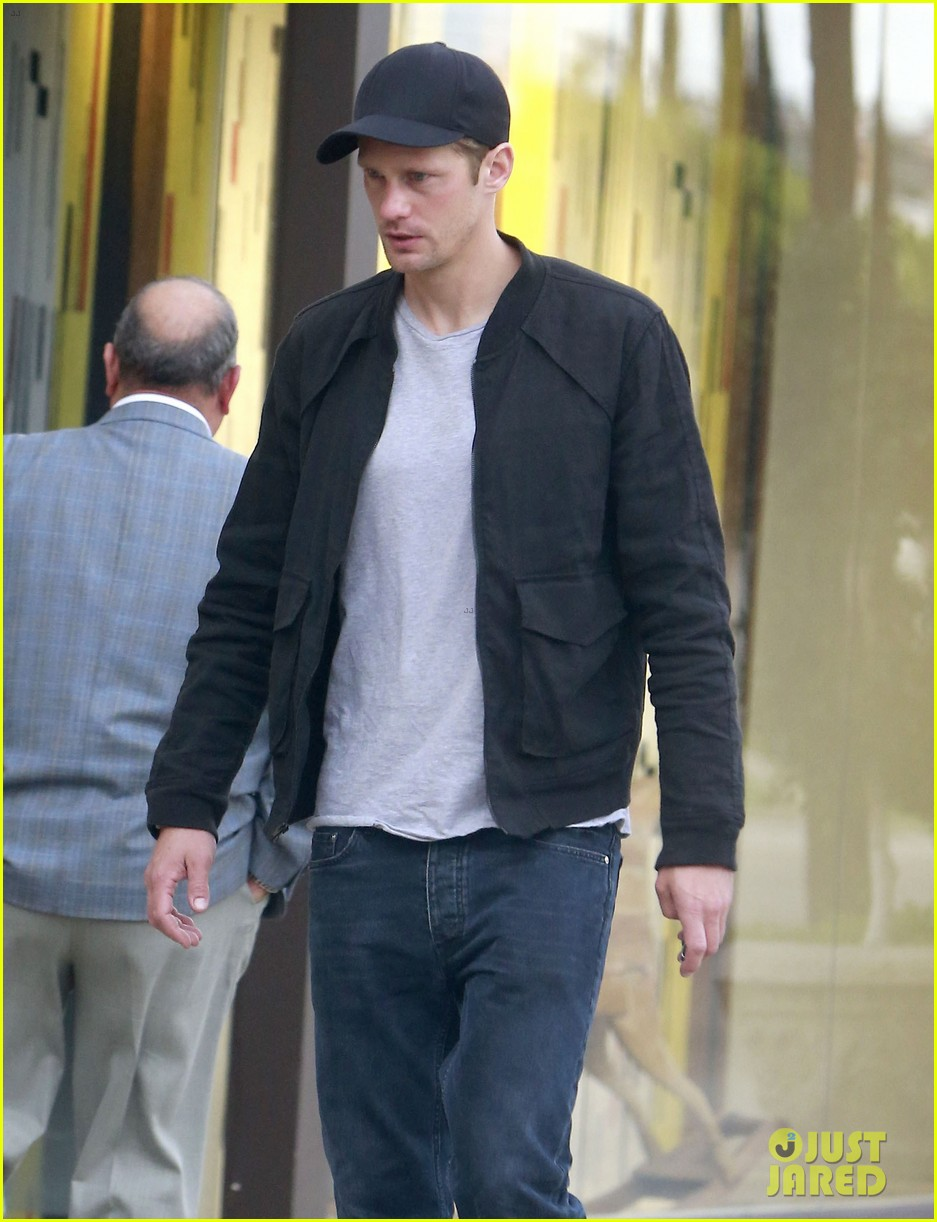 alexander skarsgard bruised eye in los angeles 07
