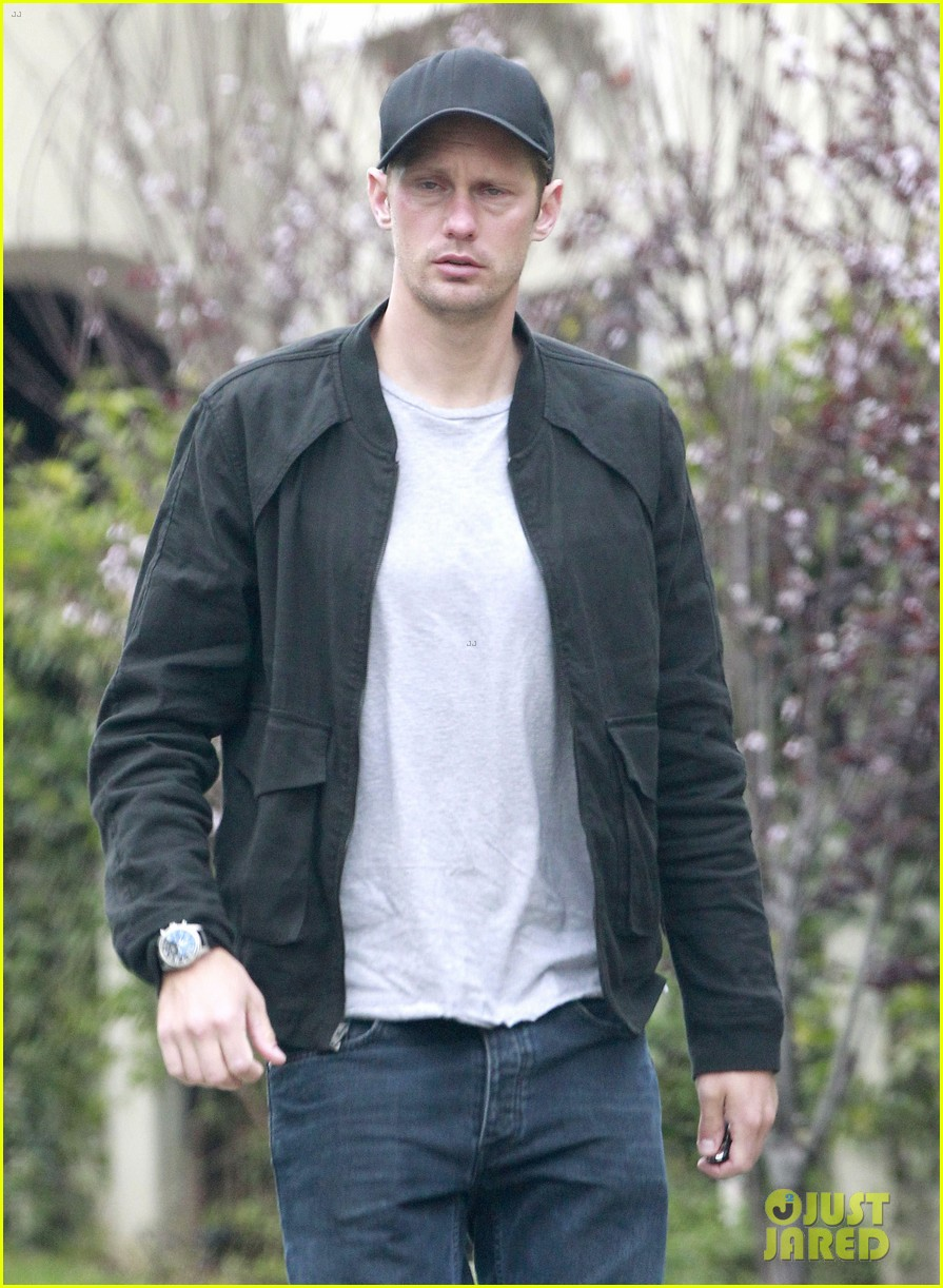 alexander skarsgard bruised eye in los angeles 172826985