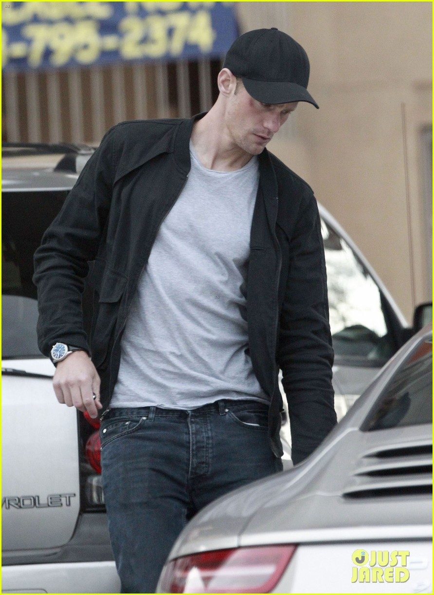 alexander skarsgard bruised eye in los angeles 212826989