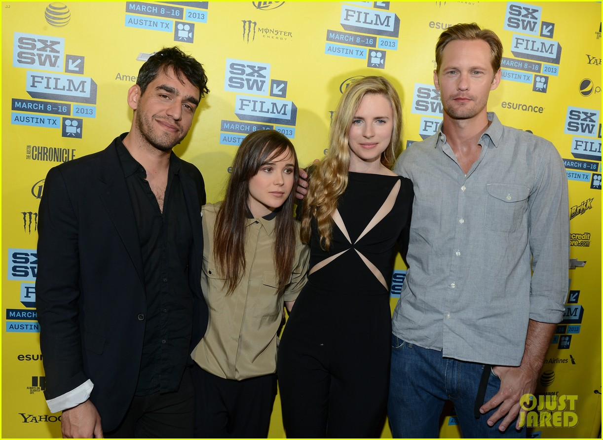 alexander skarsgard brit marling the east at sxsw 09