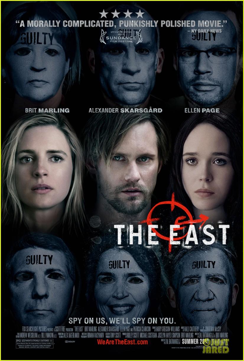 alexander skarsgard the east poster 05