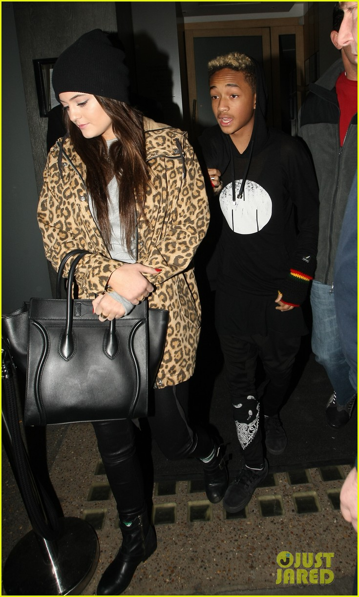 will smith london dinner with jaden kylie jenner 052824041