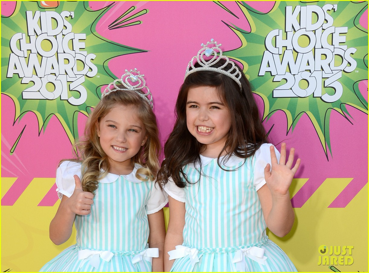 sophia grace rosie kids choice awards 2013 red carpet 022836432