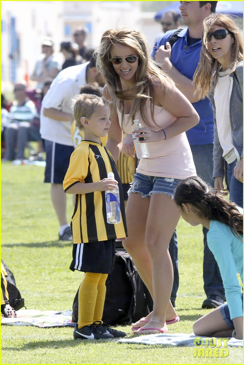 britney spears proud soccer mom 11