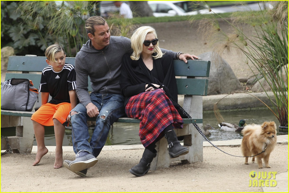 gwen stefani gavin rossdale park day with the boys 09