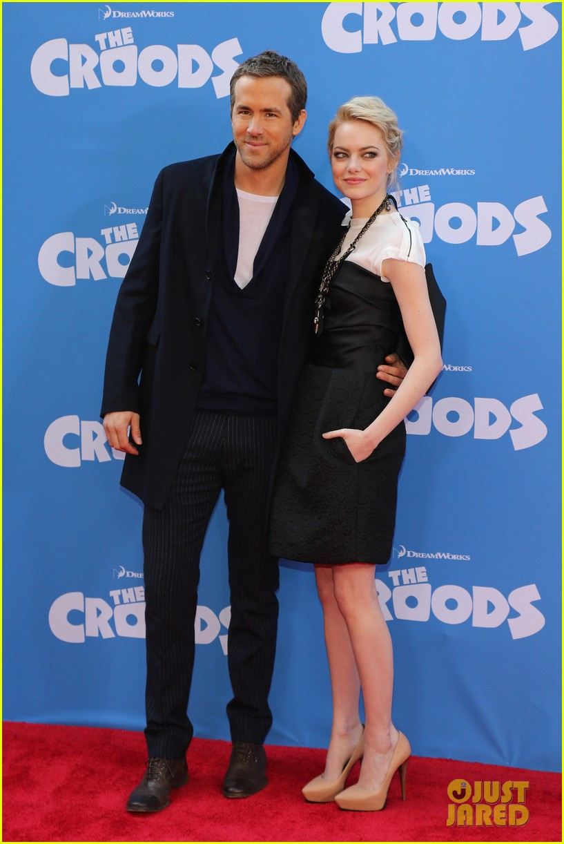 emma stone the croods premeire 10
