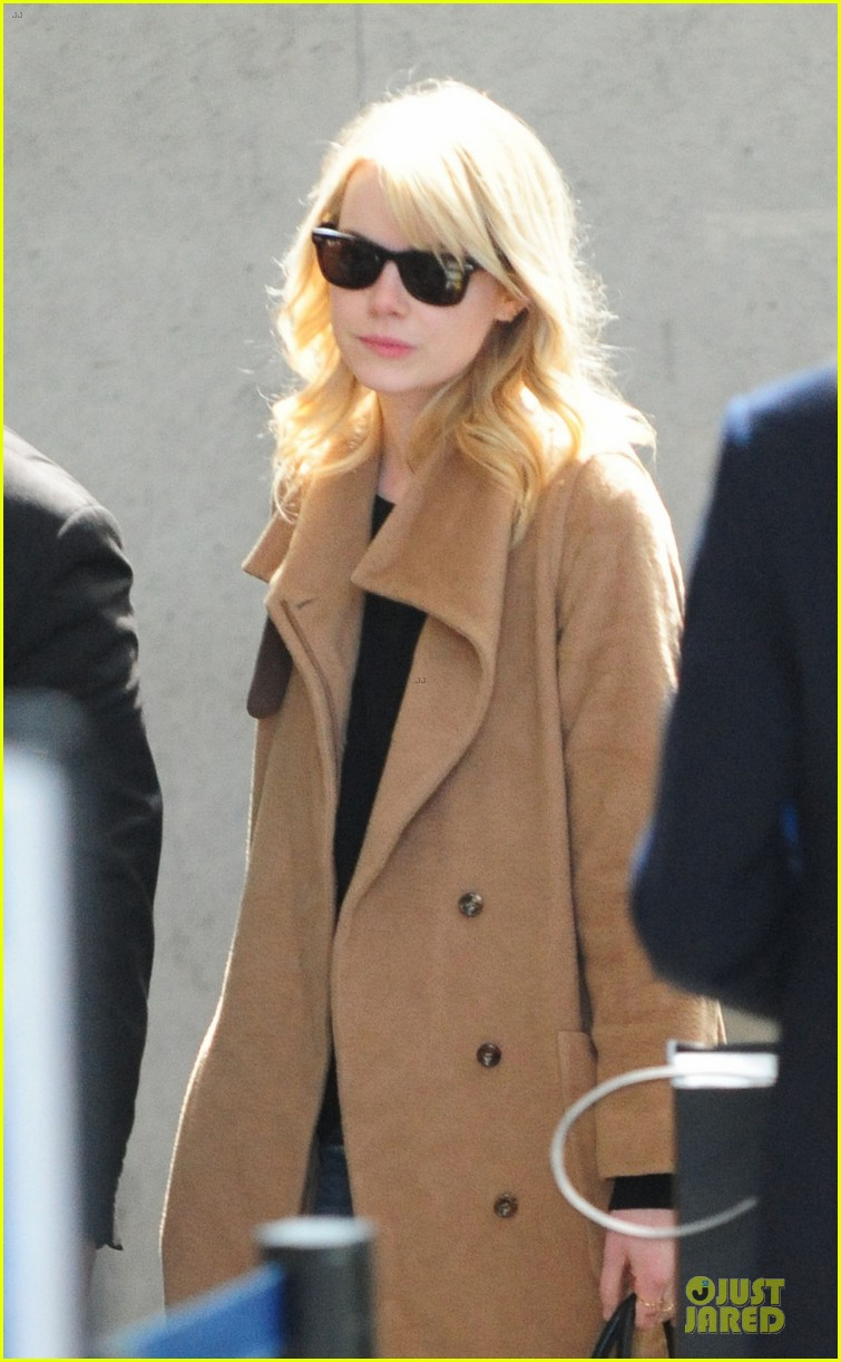 emma stone andrew garfield amazing spider man 2 has been fun so far 022830598