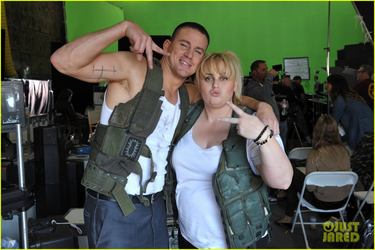 channing tatum rebel wilson mtv movie awards promo outakes video 032834606