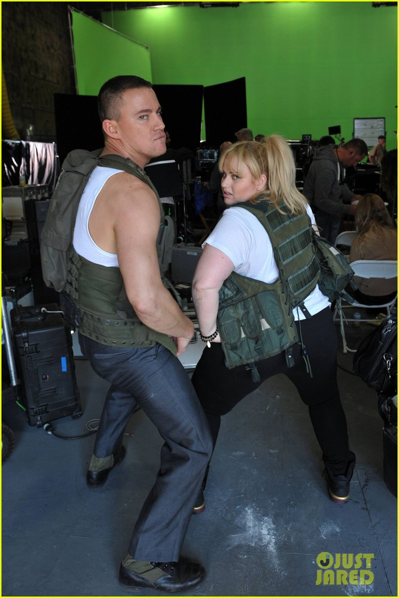 channing tatum rebel wilson mtv movie awards promo outakes video 04