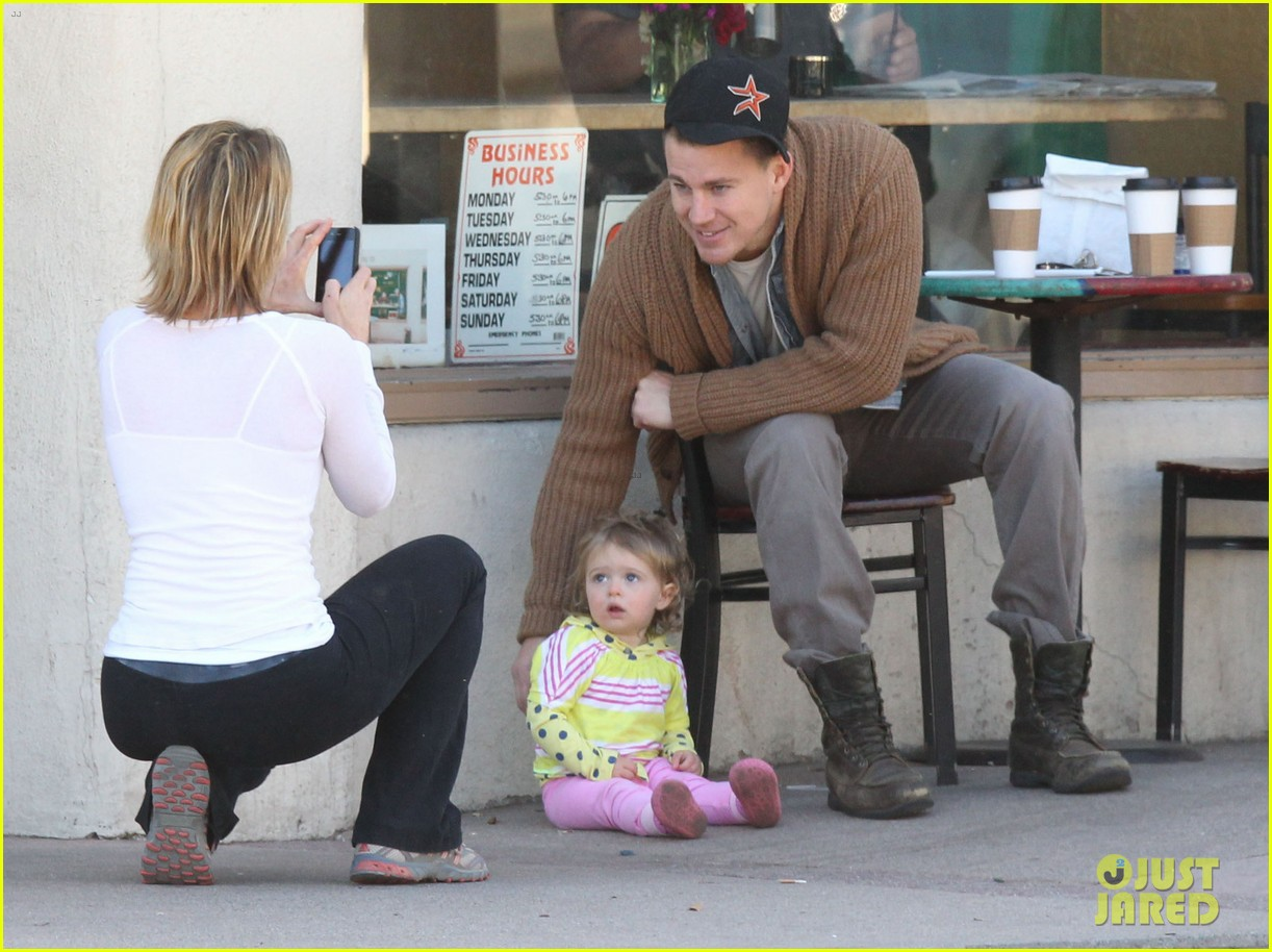 channing tatum jenna dewan lunch coffee date 022822750