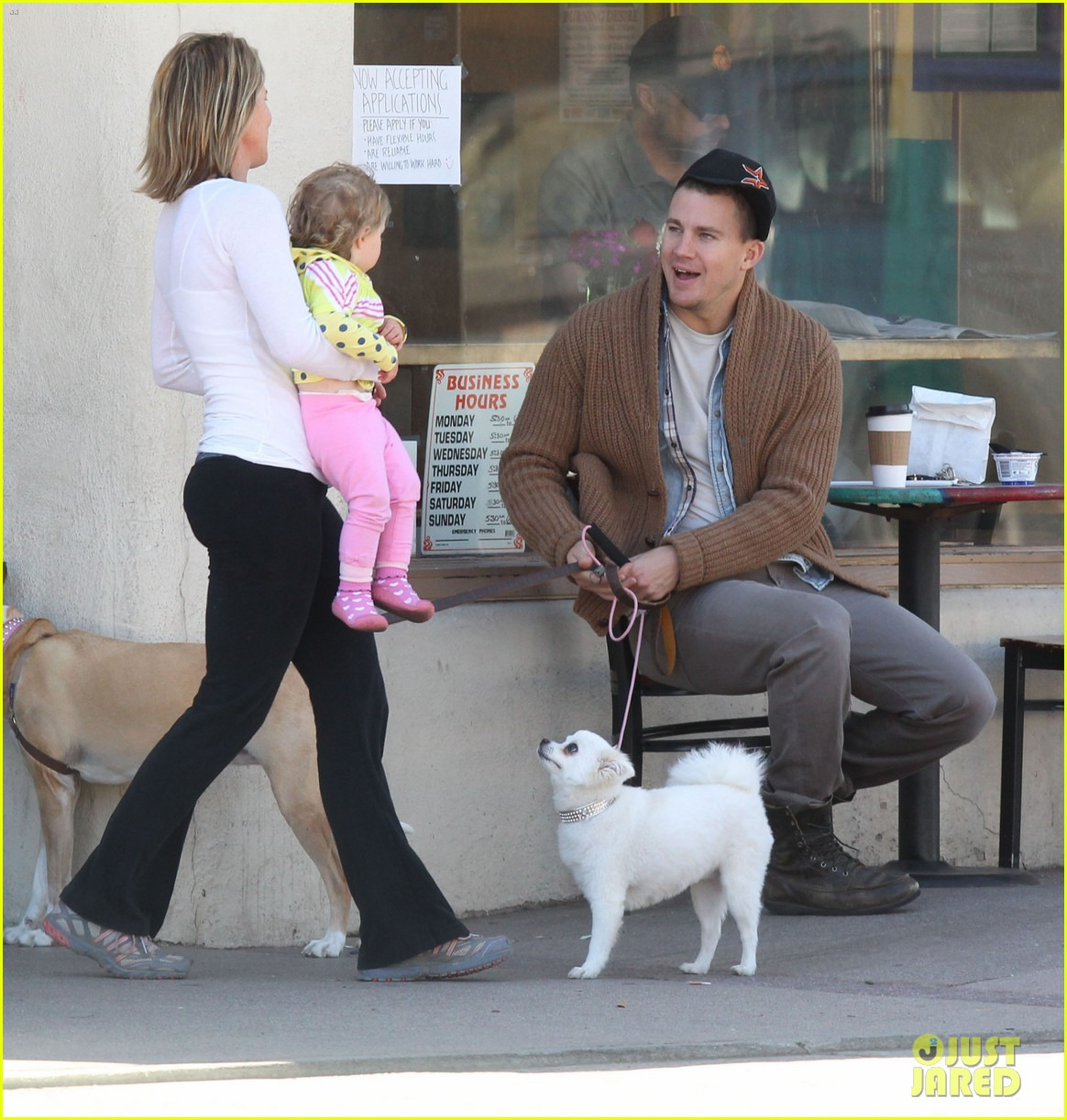 channing tatum jenna dewan lunch coffee date 14