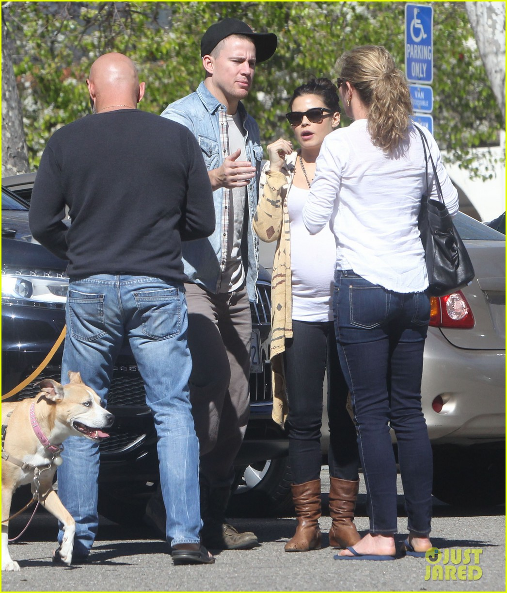 channing tatum jenna dewan lunch coffee date 16