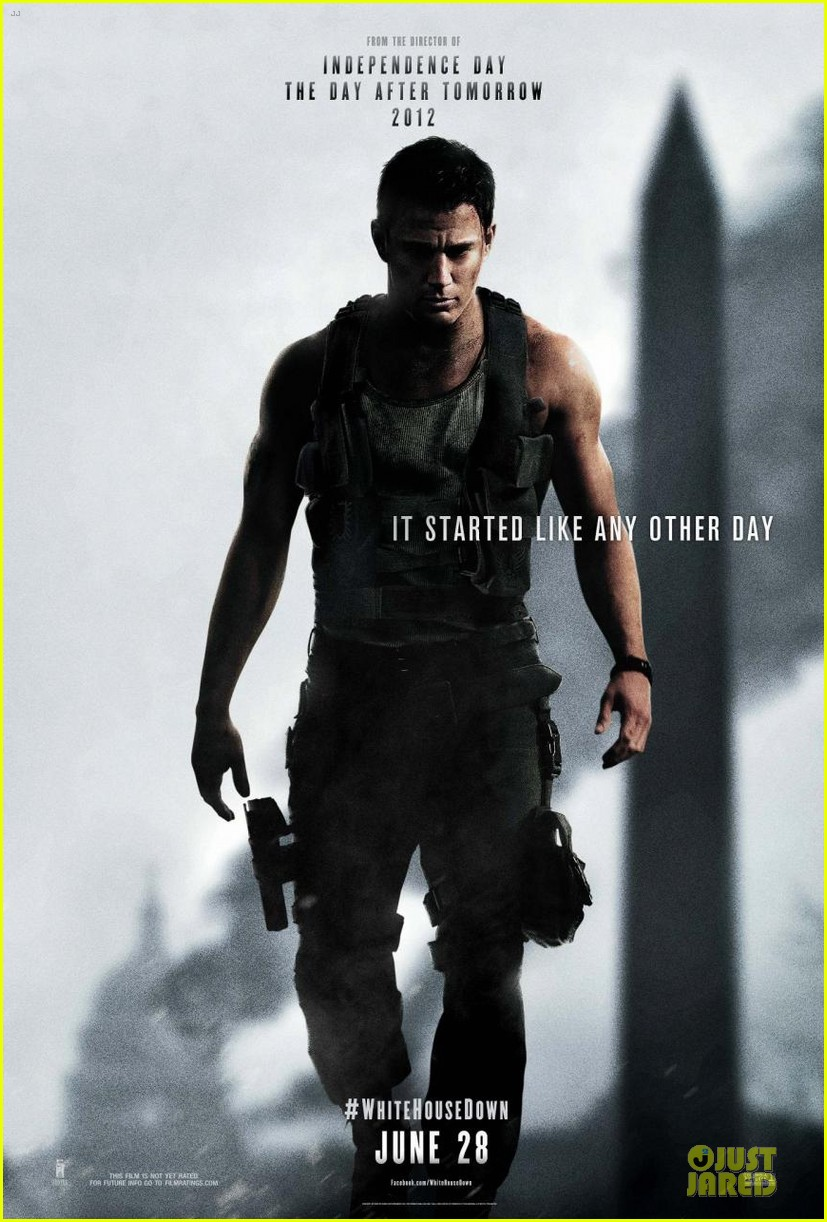 channing tatum white house down poster trailer 052838313