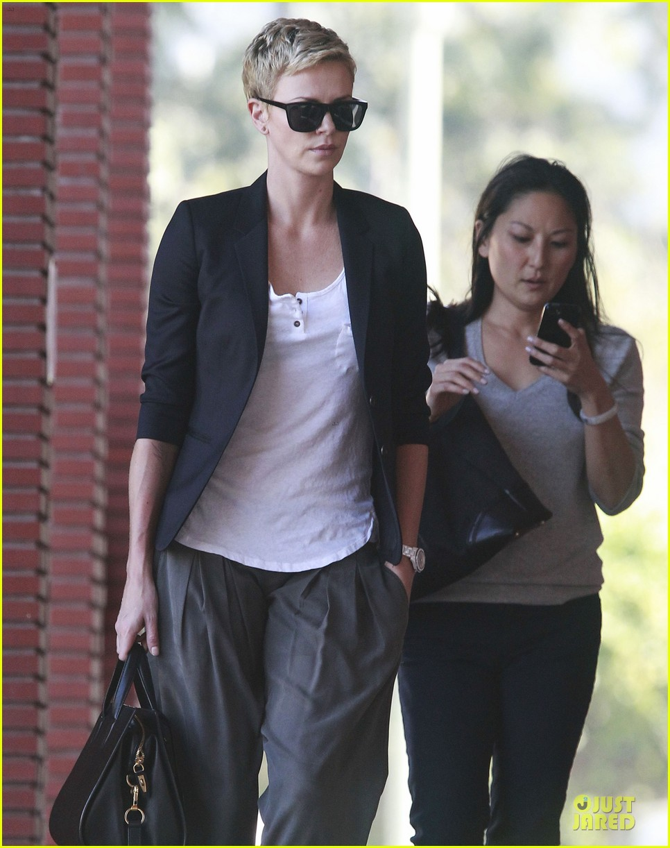 charlize theron disney studios meeting 02