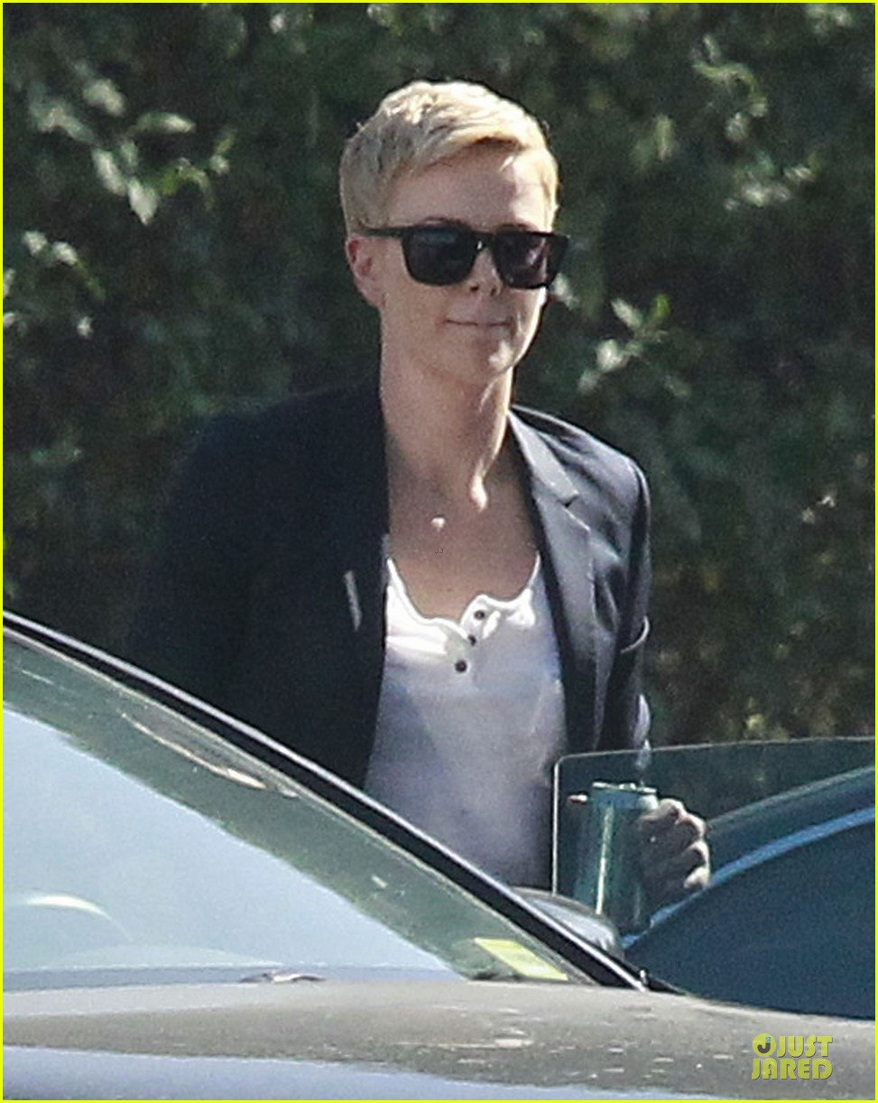 charlize theron disney studios meeting 07
