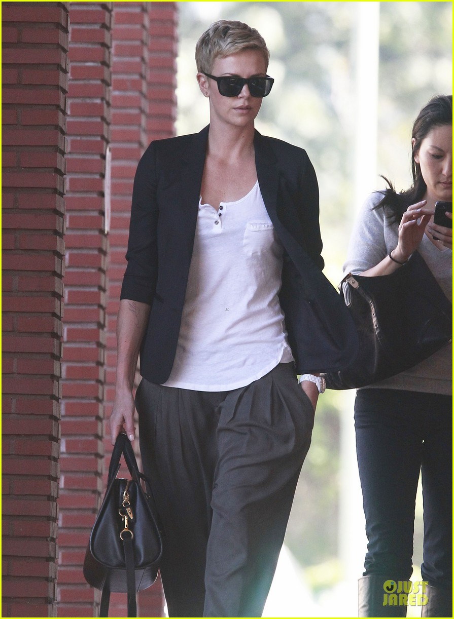 charlize theron disney studios meeting 162831349